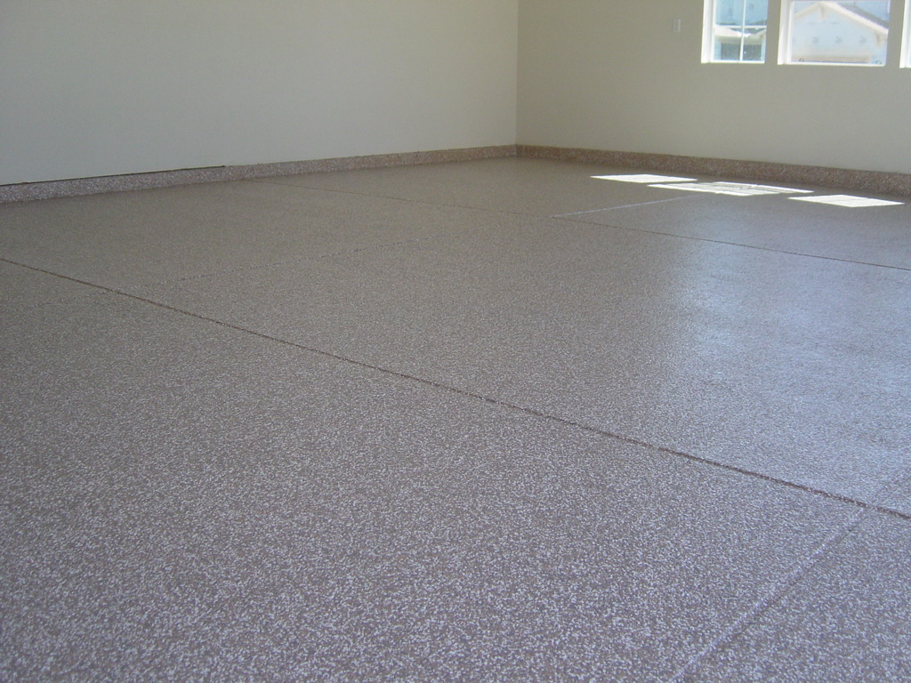 Garage Floor Coating Example 2