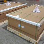 Custom Garage Cabinets Packaged for Transporation