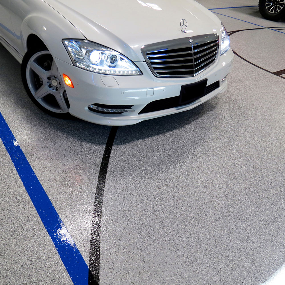 Garage Floor Coatings Parked Car