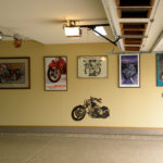 Garage Floor Coatings Motorcycle Artwork