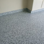Garage Floor Coatings Example 6 Multi-Color