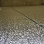 Garage Floor Coatings Multi-Color Flooring Close up