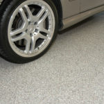 Garage Floor Coatings Example 7 Multi-Color