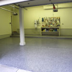 Garage Floor Coatings Example 8 Multi-Color