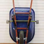 Garage Storage Hooks Wheelbarrow