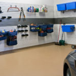Slatwall Garage Storage Slatwall Color Choices Sports Gear